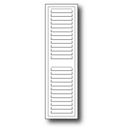 Poppy Stamps Stanzschablone - Grand Madison Window Shutter