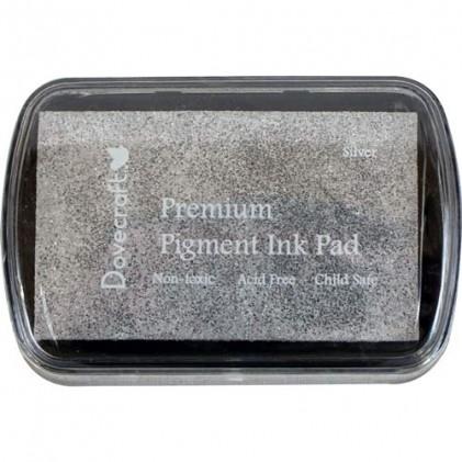 DoveCraft Pigment Ink Stempelkissen  - Silber