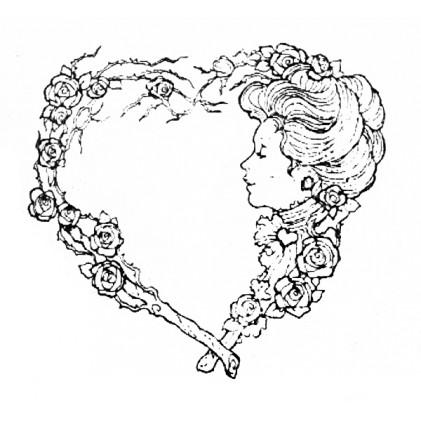 American Art Stamp - Victorian Romance 1