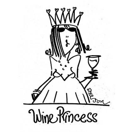 American Art Stamp - Wine Princess