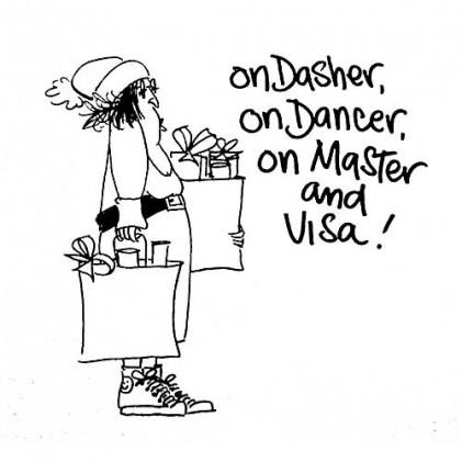 American Art Stamp - On Visa