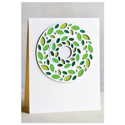 Birch Press Stanzschablone - Wreath Layer Set