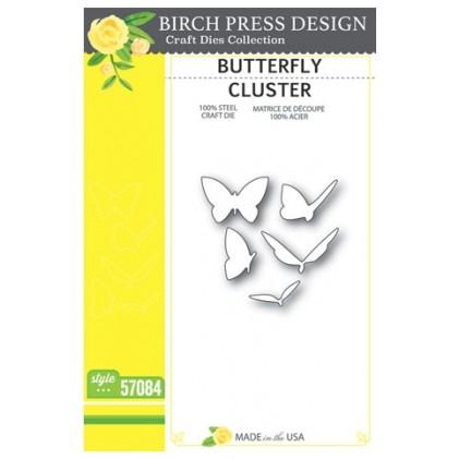 Birch Press Stanzschablone - Butterfly Cluster