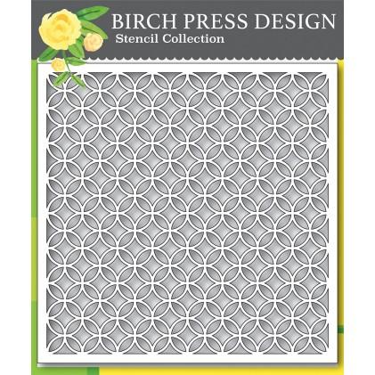 Birch Press Template - Ring Tile Stencil