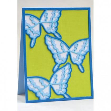 Birch Press Stanzschablonen-Set - Flutter Plate Layer Set