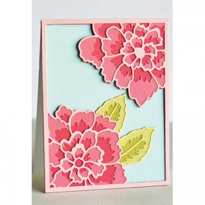 Birch Press Stanzschablonen-Set - Peony Bloom Layer Set
