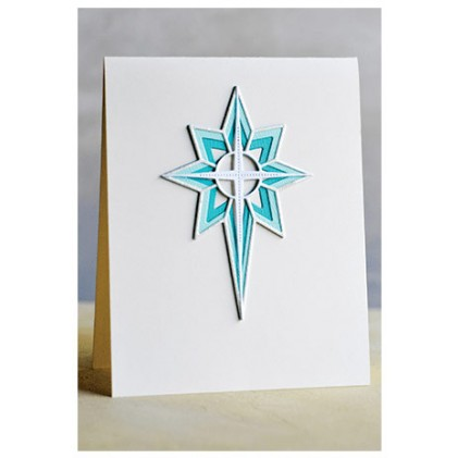 Birch Press Stanzschablone - Nativity Star Layer Set