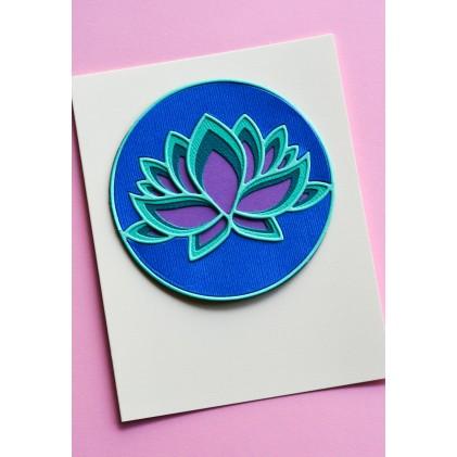Birch Press Stanzschablone - Lotus Flower Layer Set