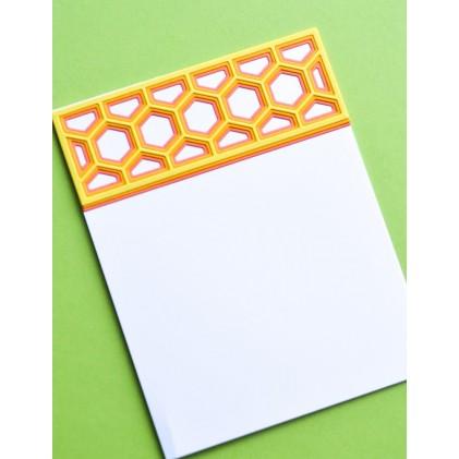 Birch Press Stanzschablone - Mini Honeycomb Bevel Plate Layer Set
