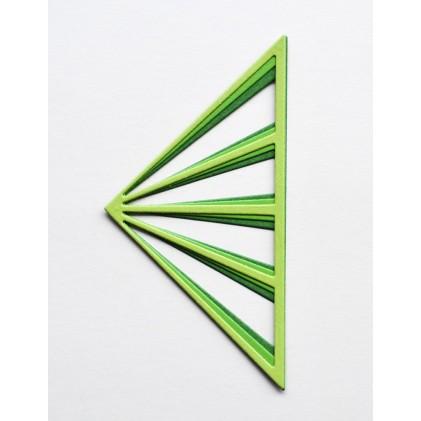 Birch Press Stanzschablone - Sun Ray Triangle Layer Set