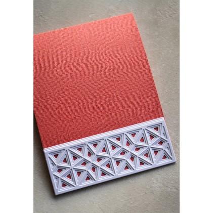 Birch Press Stanzschablone - Mini Splendor Bevel Plate Layer Set