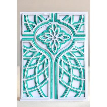 Birch Press Stanzschablone - Nobilia Ornament Plate Layer Set