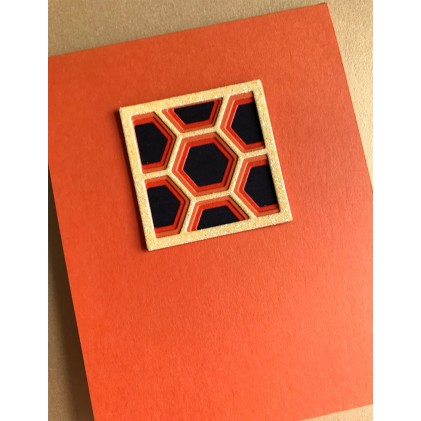 Birch Press Stanzschablone - Honeycomb Mini Tile Layer Set