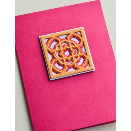 Birch Press Stanzschablone - Grandiose Mini Tile Layer Set