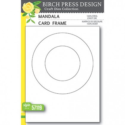 Birch Press Stanzschablone - Mandala Card Frame