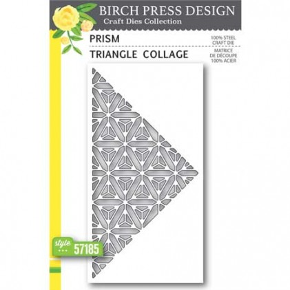 Birch Press Stanzschablone - Prism Triangle Collage