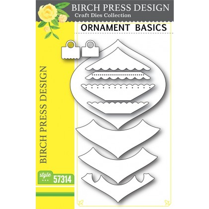 Birch Press Stanzschablone - Ornament Basics