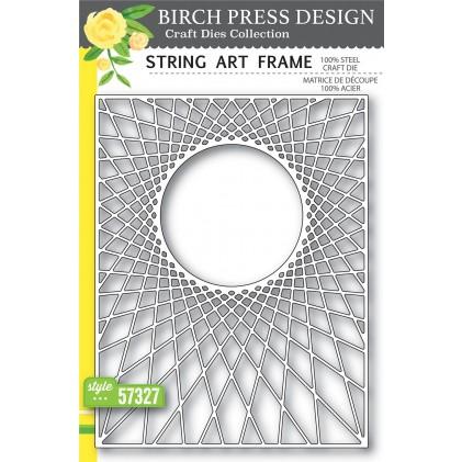 Birch Press Stanzschablone - String Art Frame