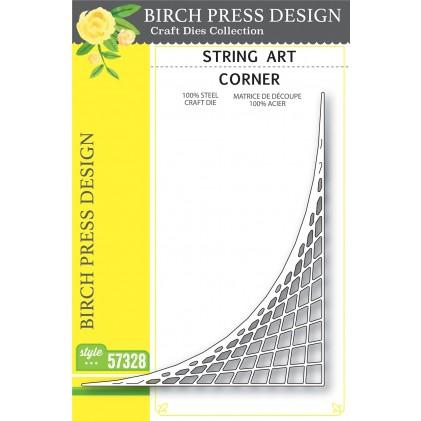 Birch Press Stanzschablone - String Art Corner