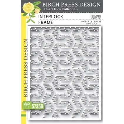 Birch Press Stanzschablone - Interlock Frame