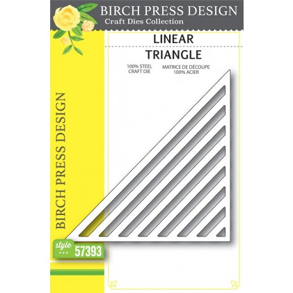 Birch Press Stanzschablone - Linear Triangle