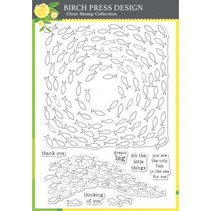 Birch Press Clear Stamp Set - Only Fish in the Sea