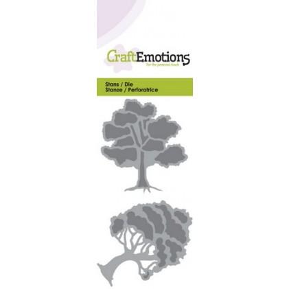 CraftEmotions Stanzschablone - Bäume 2