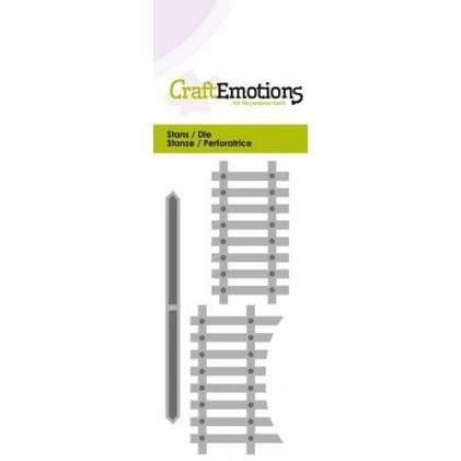 CraftEmotions Stanzschablone - Holzzaun