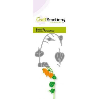 CraftEmotions Stanzschablone - Lampionblume 3D - 25% RABATT