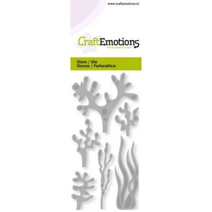 CraftEmotions Stanzschablone - Seetang und Korallen