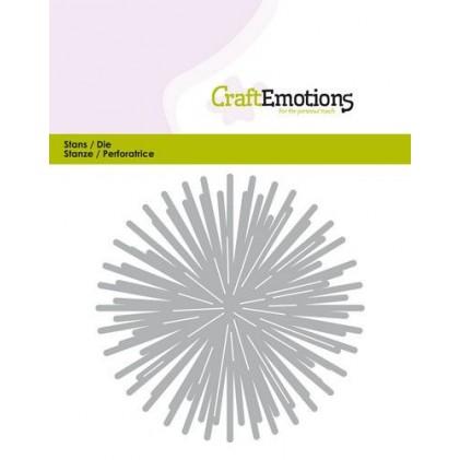CraftEmotions Stanzschablone - Strahlenstern - 20% RABATT