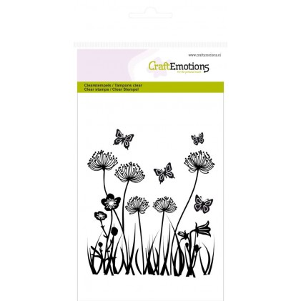 CraftEmotions Clear Stamps - Feldblumen