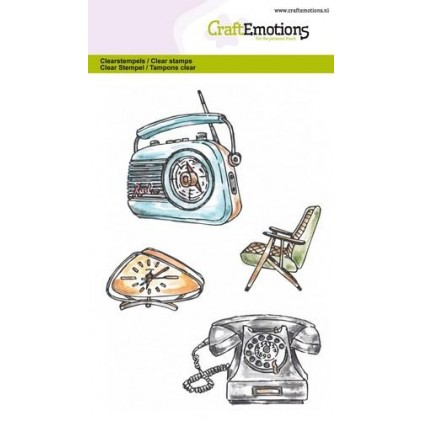 Craftemotions Clearstamps - Vintage