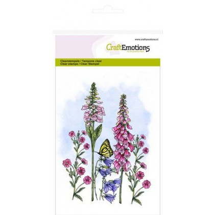 CraftEmotions Clearstamps A6 - Wildblumen 3