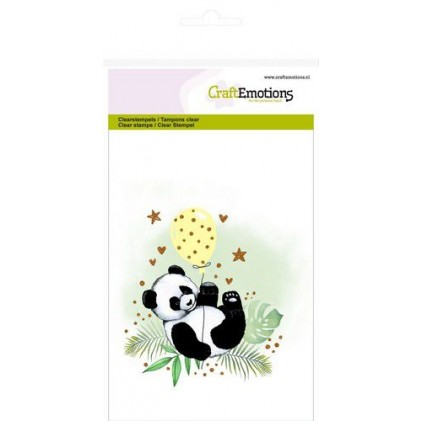 CraftEmotions Clearstamps A6 - Panda