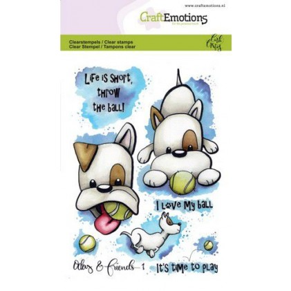 CraftEmotions clearstamps A6 - Odey & Friends 1