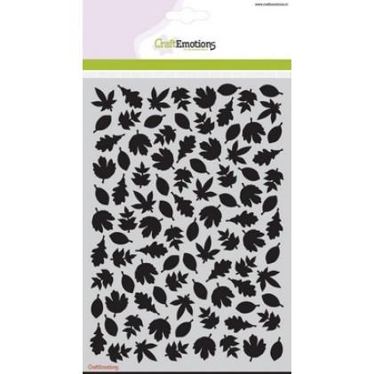CraftEmotions Stencil A5 - Blätter