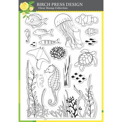 Birch Press Clear Stamp Set - Ocean Fantasy