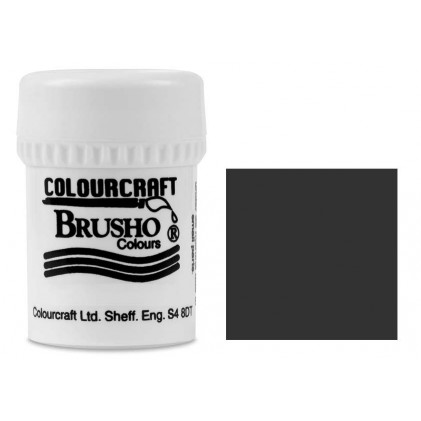 Brusho Crystal Colour Farb-Pigmente 15g - Black