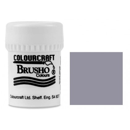 Brusho Crystal Colour Farb-Pigmente 15g - Grey