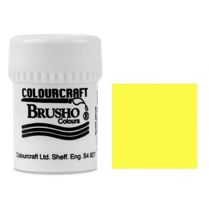 Brusho Crystal Colour Farb-Pigmente 15g - Lemon