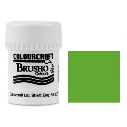 Brusho Crystal Colour Farb-Pigmente 15g - Leaf Green