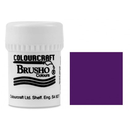Brusho Crystal Colour Farb-Pigmente 15g - Purple