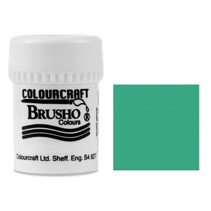 Brusho Crystal Colour Farb-Pigmente 15g - Sea Green