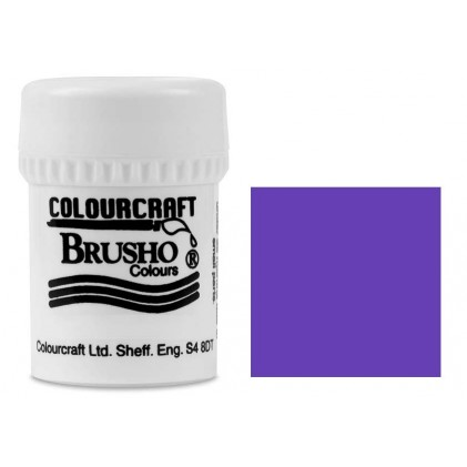 Brusho Crystal Colour Farb-Pigmente 15g - Violet