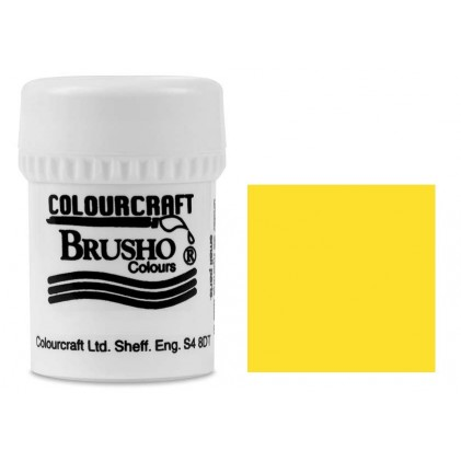 Brusho Crystal Colour Farb-Pigmente 15g - Yellow