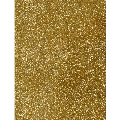 Glitter Cardstock A4 - Gold