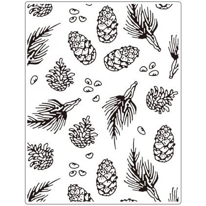 Crafts Too Hintergrund-Prägeschablone GROSS - Pine