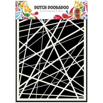 Dutch Doobadoo Mask Art Stencil A5 - Stripes