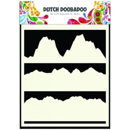 Dutch Doobadoo Mask Art Stencil A5 - Landscape
